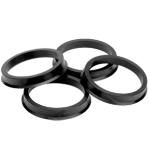 Poly Black Hub Centric Rings