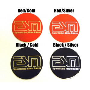ESM Colored Center Wheel Decals
