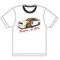 "ESM Wheels E30 M3 T-Shirt ""Keepin It 80's!"""